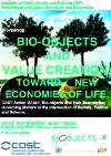"""COST International Workshop: """"Bio-objects and value creation"""